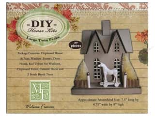 Melissa Frances Embellishments Ornament Chipboard House Twin Peaks Large