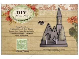 Melissa Frances Church House Large Chipboard