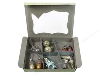 Melissa Frances Christmas Ornaments Assorted 12 pc