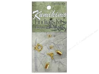 Projects & Kits mm: Dazzle It Kumihimo Finding Kit 5mm Gold