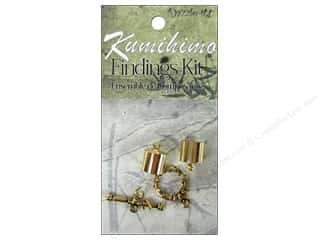 Dazzle It Kumihimo Finding Kit 10mm Gold