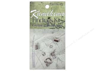 Dazzle It Kumihimo Finding Kit 5mm Silver