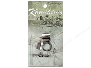 Projects & Kits mm: Dazzle It Kumihimo Finding Kit 10mm Silver