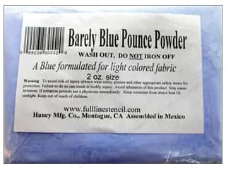 fabric chalk: Hancy Quilt Pounce Refill Chalk Barely Blue 2oz