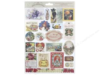 Melissa Frances Sticker Seasonal Attic Treasures
