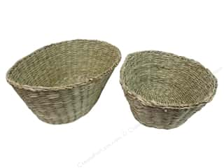 Novelty Items $1 - $3: Sierra Pacific Oval Basket Set of 2