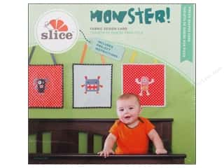 Quilled Creations Cutting Dies: Slice Fabric Design Card Monster!
