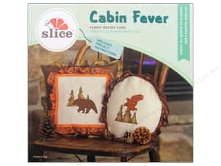 Dies Slice Design Cards: Slice Fabric Design Card Cabin Fever
