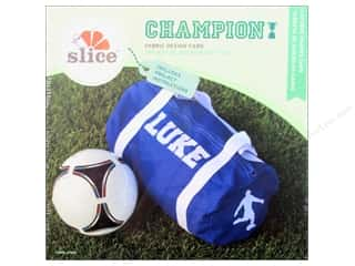 Cartridges Clearance Crafts: Slice Fabric Design Card Champion