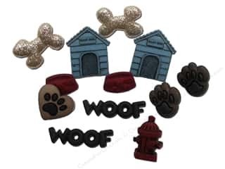 Craft Embellishments Size Metric: Jesse James Dress It Up Embellishments Dog Stuff