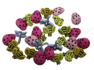 Jesse James Embellishments Tiny Bugs