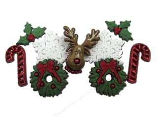 Christmas $2 - $4: Jesse James Dress It Up Embellishments Christmas Collection Deck the Halls