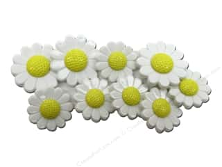 button: Jesse James Embellishments Daisies