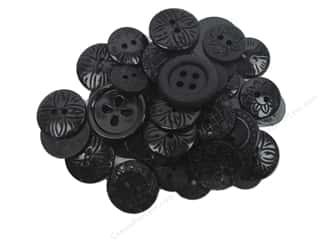 button: Jesse James Embellishments Color Me Black