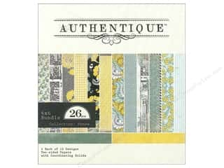 Authentique 6 x 6 in. Paper Bundle Renew 26 pc.