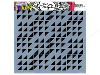 The Crafter's Workshop Template 12 x 12 in. Aztec