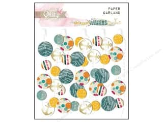 Glitz Design Embel Garland Paper Uncharted Waters
