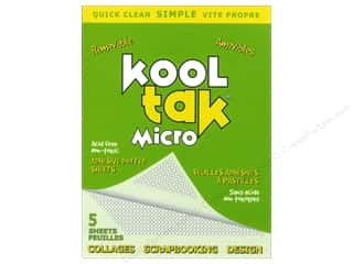 Kool Tak Micro Dots Adhesive Sheets Removable 5pc
