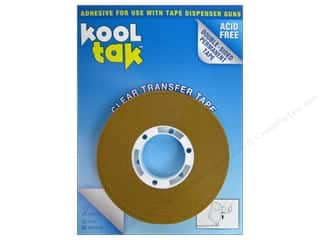 Kool Tak Clear Transfer Tape 1/2&quot;x36yd