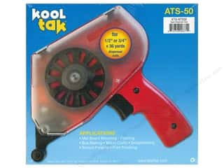 Kool Tac Kool Tak Ultra Clear Tape: Kool Tak Tape Gun Dispenser