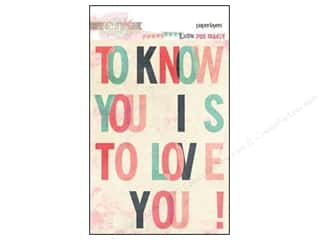Love & Romance Scrapbooking & Paper Crafts: Glitz Design Paper Layers Love You Madly