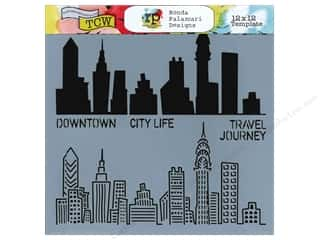 The Crafter's Template 12 x 12 in. Urban Landscape
