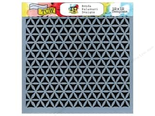 The Crafter's Workshop Template 12 x 12 in. Kaleidoscope