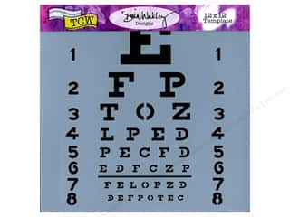 The Crafter's Workshop Template 12 x 12 in. Eye Chart
