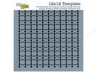 The Crafter's Workshop Template 12 x 12 in. Djembe Rhythm