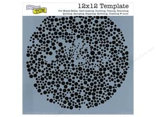 Templates Clearance Patterns: The Crafter's Workshop Template 12 x 12 in. Microbial