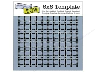 The Crafter's Workshop Template 6 x 6 in. Djembe Rhythm