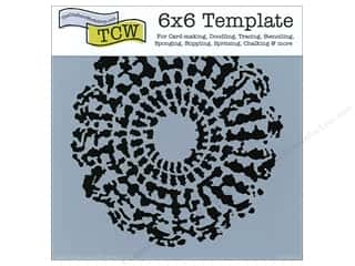 Sponges inches: The Crafter's Workshop Template 6 x 6 in. Grandma's Doily