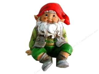 SPC Gnome Figurine Sitting 4""