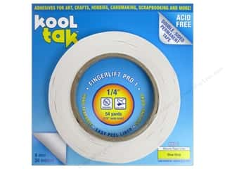 "2013 Crafties - Best Adhesive: Kool Tak Fingerlift Pro 1 Tape 1/4""x 54yd"