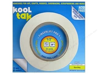 "2013 Crafties - Best Adhesive: Kool Tak Fingerlift Pro 1 Tape 1/2""x 54yd"