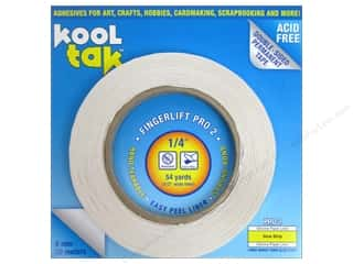 "2013 Crafties - Best Adhesive: Kool Tak Fingerlift Pro 2 Tape 1/4""x 54yd"