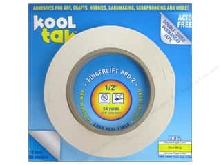 "2013 Crafties - Best Adhesive: Kool Tak Fingerlift Pro 2 Tape 1/2""x 54yd"