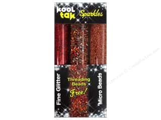 Kool Tak Sparkles Set Assorted Red 3pc