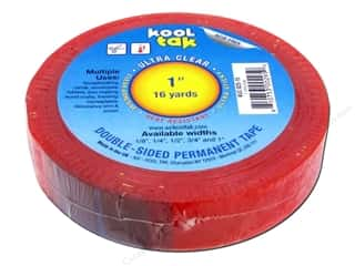 "Craft Knife Clear: Kool Tak Ultra Clear Tape 1""x16yd"