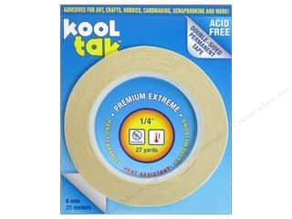 Kool Tak Premium Extreme Tape 1/4&quot;x27yd