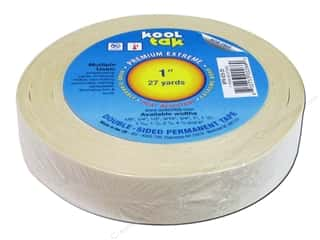 "Kool Tac Glues, Adhesives & Tapes: Kool Tak Premium Extreme Tape 1""x27yd"
