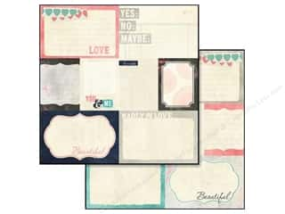 Glitz Design Paper 12x12 Love You Madly Bits & Pcs (25 piece)