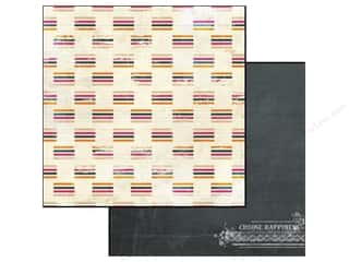 Glitz Design Paper 12x12 Uncharted Waters Stripe (25 piece)