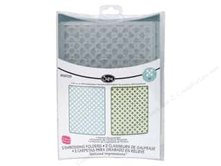 Sizzix Textured Impressions Emboss Folder Dotted Squares