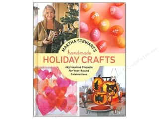 Creative Publishing International Home Decor Books: Potter Publishers Martha Stewart's Handmade Holiday Crafts Book