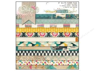 Glitz Design Paper Pad 6x6 Uncharted Waters