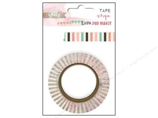 Glitz Design Washi Tape Love You Madly Stripe