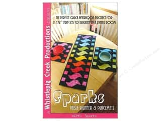 Common Thread Designs Table Runner & Kitchen Linens Patterns: Whistlepig Creek Sparks Table Runner & Placemats Pattern