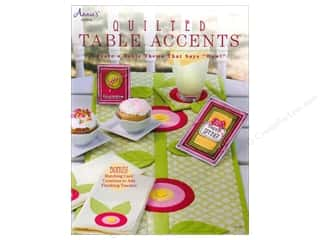 Annies Attic Paper Craft Books: Annie's Quilted Table Accents Book