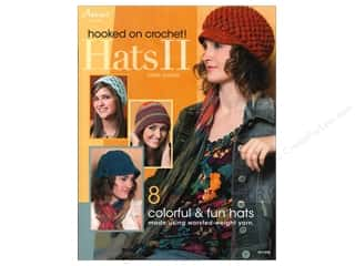 yarn  books: Hooked On Crochet Hats II Book